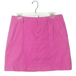 Lilly Pulitzer Womens Pink Mini Short Skirt Size 8